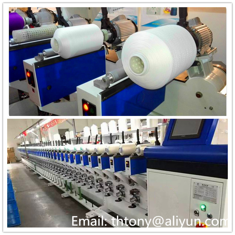 Cheese bobbin winding machine